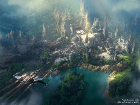 Star Wars Land Disney 2016 Update HD Hi Res Image