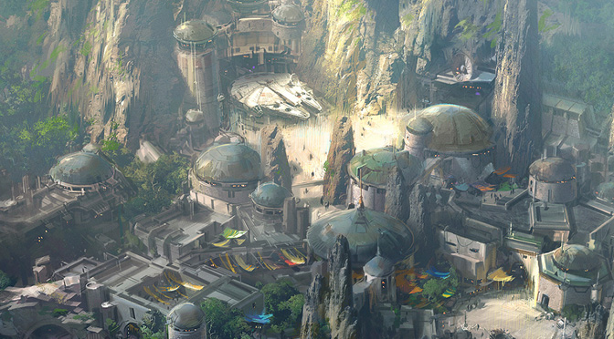 Star Wars Land : Sneak Peak
