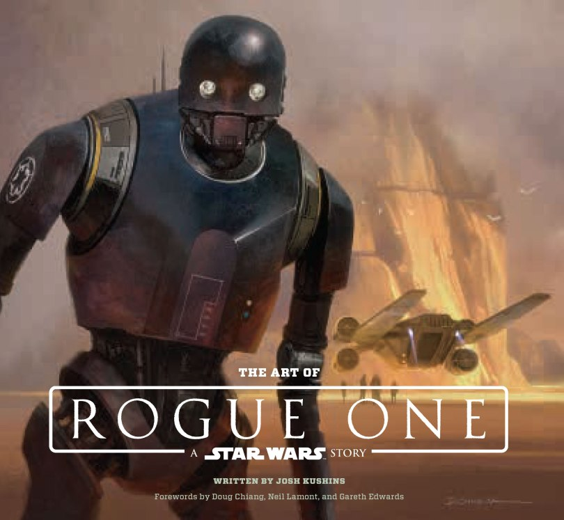 The Art of Rogue One Cover Artwork by Doug Chaing HD Hi-Res