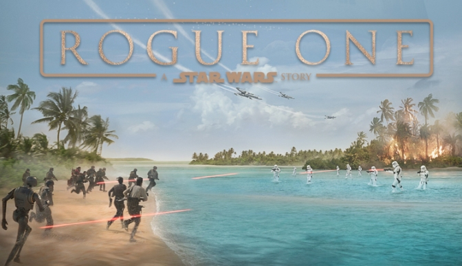 The Official Rogue One Teaser Poster Lucasfilm Disney Header