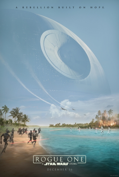 The Official Rogue One Teaser Poster Lucasfilm Disney