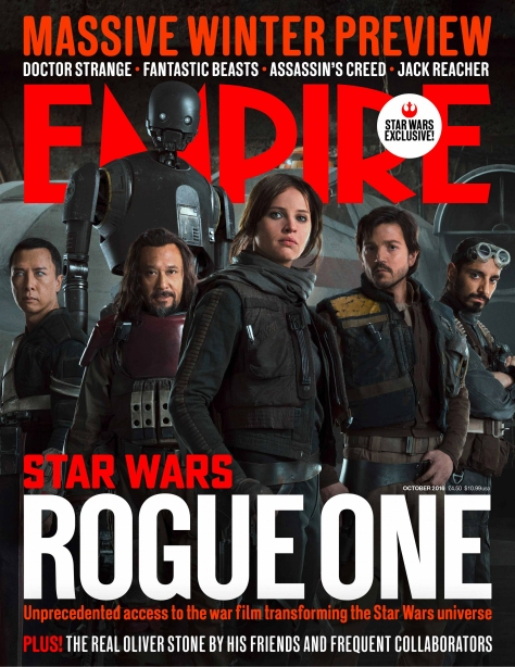 Empire Magazine 1st Rogue One Cover HD Hi Res