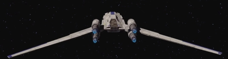 INCOM UT-60 U Wing Star Wars Rogue One