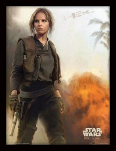 NEW Rogue One Official Posters Pyramid Int HD - A Star Wars Story _ Jyn Rebel X-Wing