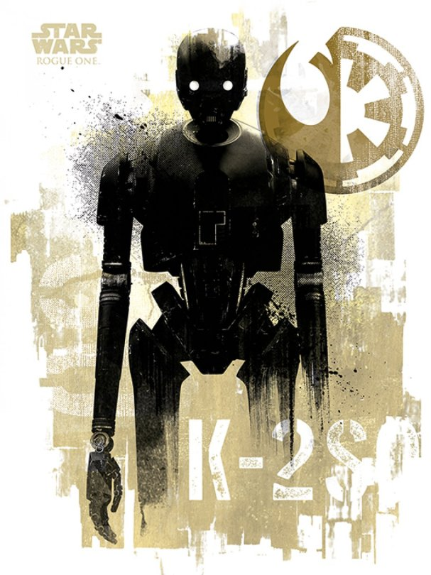 NEW Rogue One Official Posters Pyramid Int HD - A Star Wars Story _ K-2SO HD Hi Res