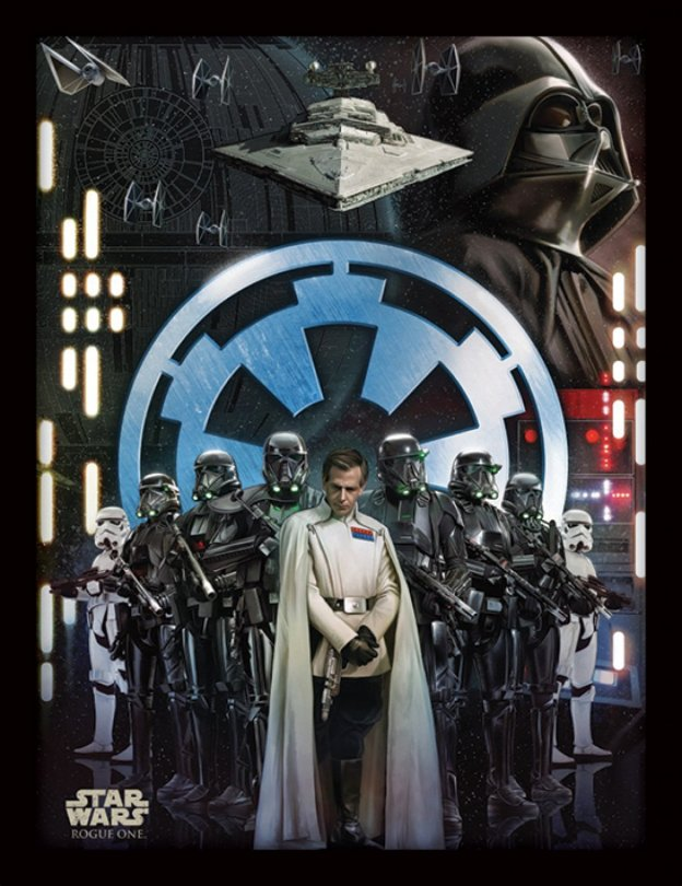 NEW Rogue One Official Posters Pyramid Int HD - A Star Wars Story _ The Galactic Empire