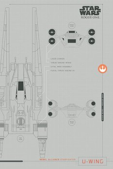 NEW Rogue One Official Posters Pyramid Int HD - A Star Wars Story _ U Wing schematicNEW Rogue One Official Posters Pyramid Int HD - A Star Wars Story _ U Wing schematic