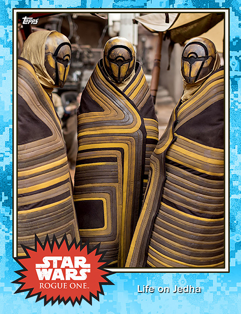 Rogue One Topps Trading Cards Life on Jedha