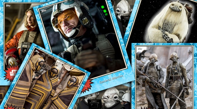 Rogue One Topps Trading Cards MilnersBlog Header