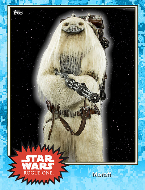 Rogue One Topps Trading Cards Moroff
