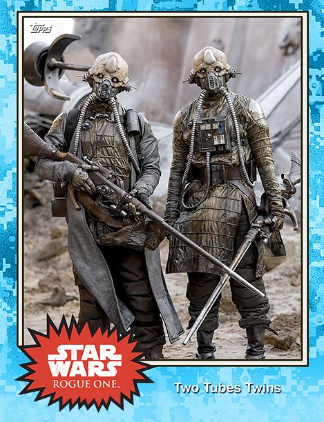 Rogue One Topps Trading Cards Two Tubes Twins