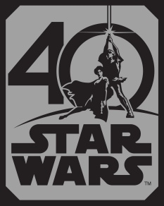 Star Wars 40th Anniversary Poster HD Hi-Res