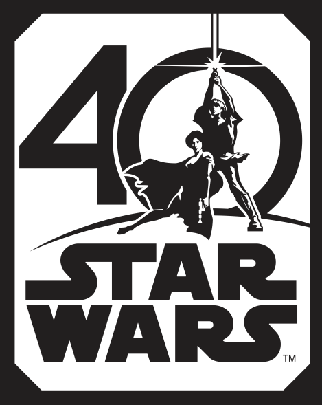Star Wars 40th Anniversary Poster HD Hi-Res copy