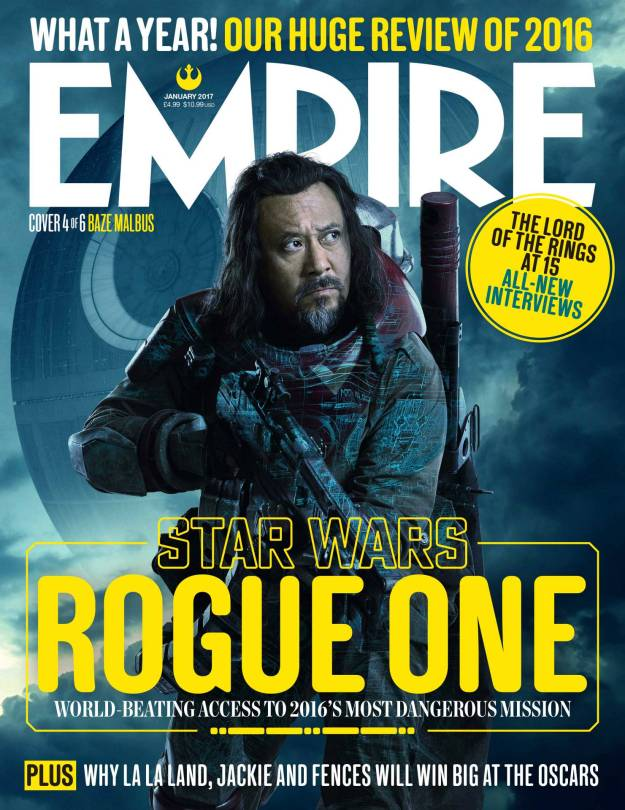 Baze Malbus New Rogue One A Star Wars Story Empire Magazine Covers HD Hi-Res _4