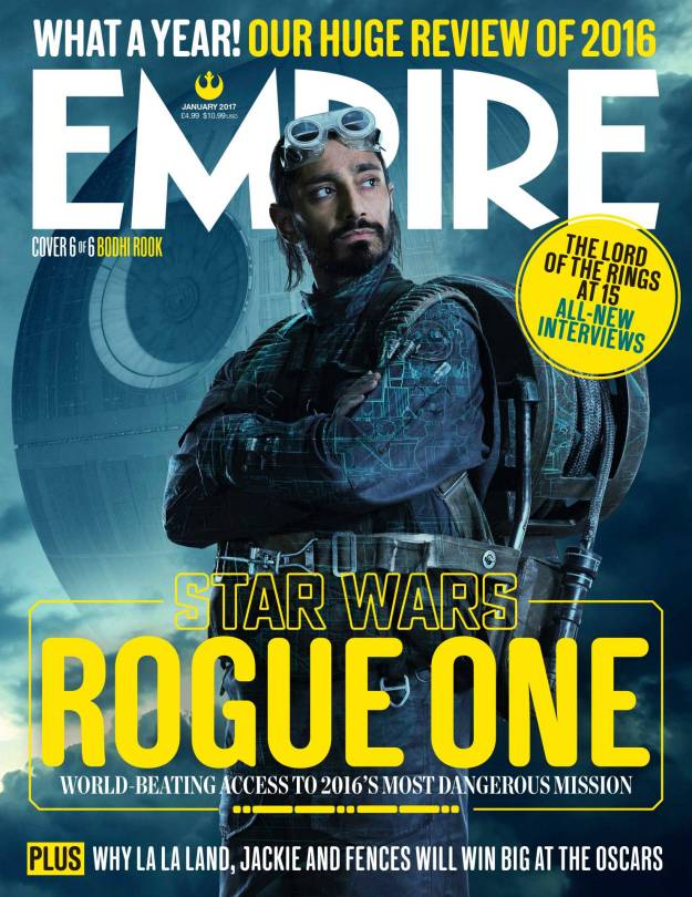 Bodhi Rook New Rogue One A Star Wars Story Empire Magazine Covers HD Hi-Res _6