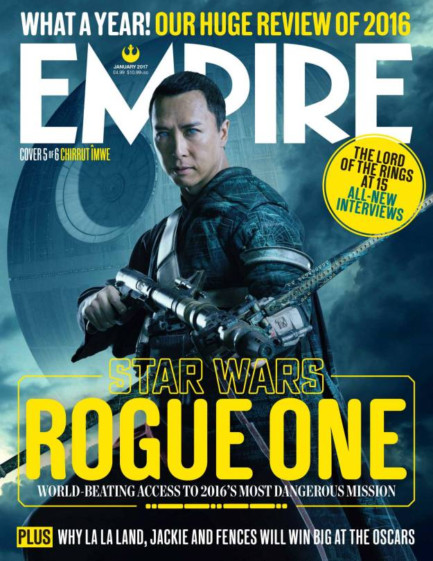 Chirrut Imwe New Rogue One A Star Wars Story Empire Magazine Covers HD Hi-Res _5