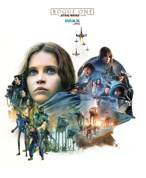IMAX alternative Exclusive Rogue One A Star Wars Story Poster HD Hi-Res