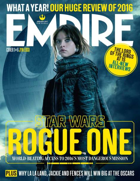 Jyn Erso New Rogue One A Star Wars Story Empire Magazine Covers HD Hi-Res _1
