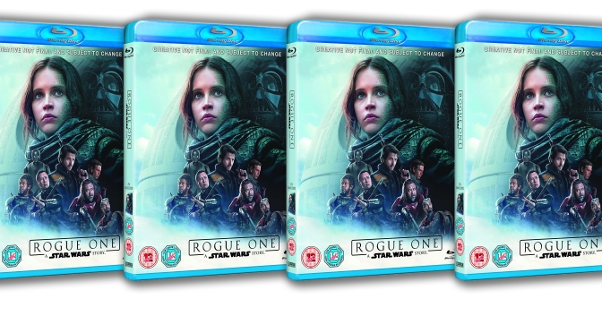 Rogue One A Star Wares Story Blu-ray UK Cover