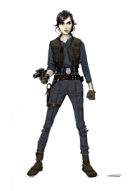 the-art-of-rogue-one-in-early-versions-of-the-script-jyn-had-a-jedi-mother-and-a-younger-brother-who-she-had-to-protect