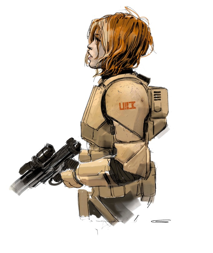 the-art-of-rogue-one-jyn-erso-in-armor-version-1-concept-art-8