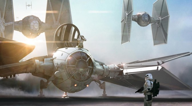 The Force Awakens ILM Portfolio