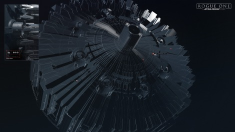 The Rogue One Death Star Plans HD Wallpaper