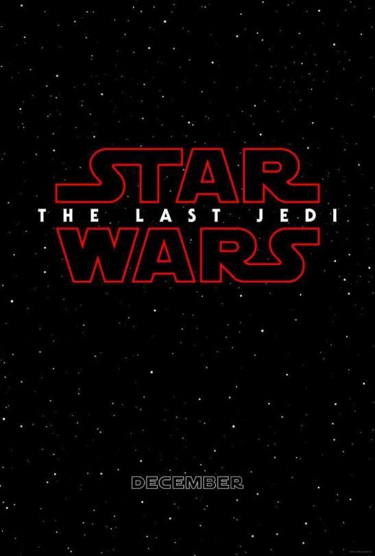 Star Wars Episode VIII The Last Jedi Teaser Poster HD Hi-Res Poster