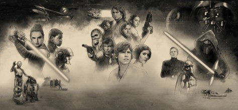Star Wars Celebration Orlando 2017 Official Key Art Banner Poster by Paul Shipper