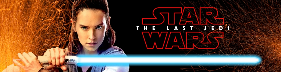 star wars the last jedi rey poster The Last Jedi promo and logo