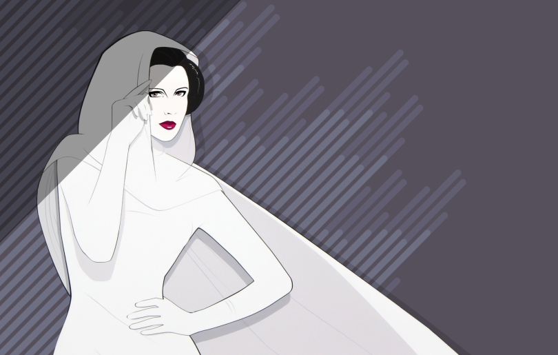 Carrie Fisher The Princess Leia Star Wars Tribute Mondo Artwork by Craig Drake on MilnersBlog