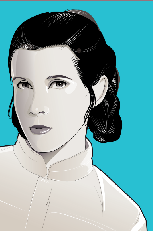 Leia Star Wars Mondo Artwork by Craig Drake on MilnersBlog