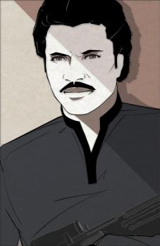 Star Wars Lando Mondo Artwork by Craig Drake on MilnersBlog