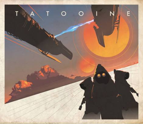 Tatooine Star Wars Mondo Artwork by Craig Drake on MilnersBlog
