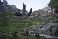 Star Wars _ The Last Jedi Temple of the Jedi Order Tree