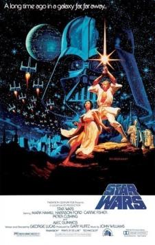 Star Wars A New Hope Poster Last Jedi comparison