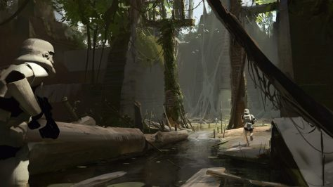 Star Wars Battlefront II 2 Concept Art 12