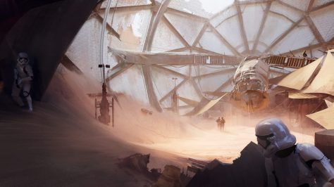 Star Wars Battlefront II 2 Concept Art 4