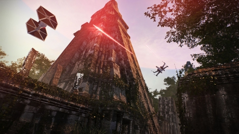 Star Wars Battlefront II 2 Concept Art Yavin 4 Battle
