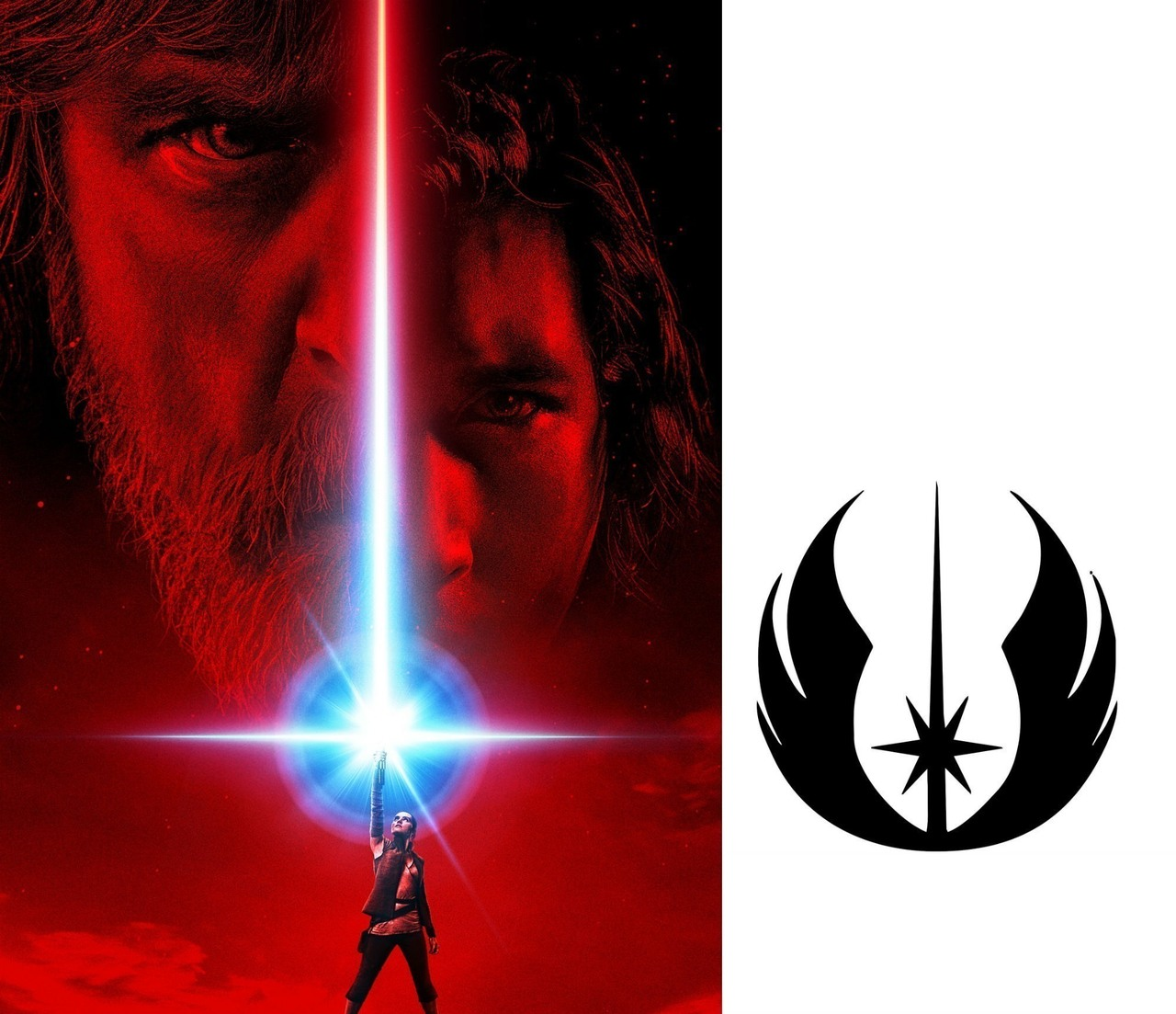 The last jedi hidden jedi order symbol milners blog last jedi poster reveals more biocorpaavc