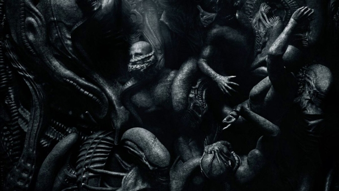 Alien Covenant PARADISE begins in Hell Poster