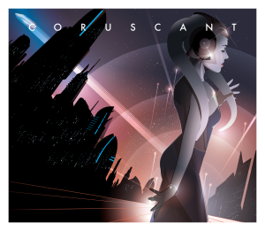 Coruscant Star Tours 2017 Mondo Art by Craig Drake Star Wars Art Disneyland Star Tours
