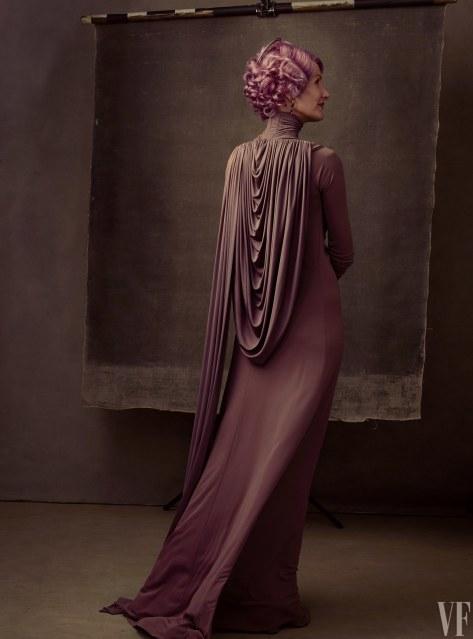 Star Wars The Last Jedi Vanity Fair Photo shoot by Annie Leibovitz Hi Res HD Images Laura Dern as Vice Admiral Amilyn Holdo