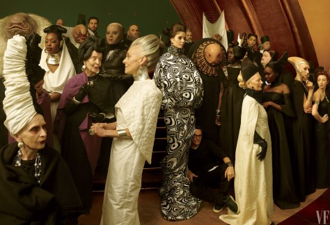 Star Wars The Last Jedi Vanity Fair Photo shoot by Annie Leibovitz Hi Res HD Images The Canto Bight casino costumes
