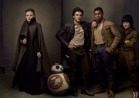 Star Wars The Last Jedi Vanity Fair Photo shoot by Annie Leibovitz Hi Res HD Images The Resistance