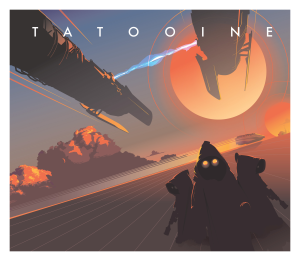 Tatooine Star Tours 2017 Mondo Art by Craig Drake Star Wars Art Disneyland Star Tours