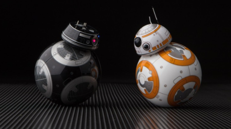 The Last Jedi BB-9E and BB-8 Ultra Hi Resolution Star Wars