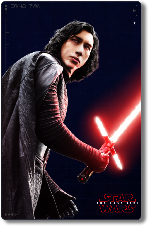 The Last Jedi Costumes   Milners Blog Lyric Typography Poster