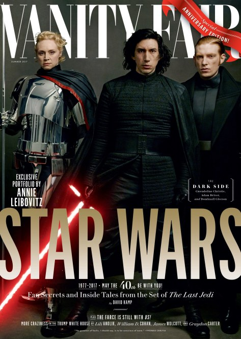 Star Wars : The Last Jedi Four Exclusive Vanity Fair Covers Hi Res HD Large _ Phasma Kylo Ren and General Hux