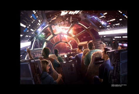 Star Wars Disney Parks galaxys edge millennium falcon